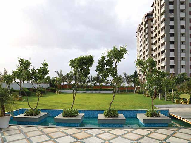 Apple Elegance 2 bhk Flats on Kalawad Road