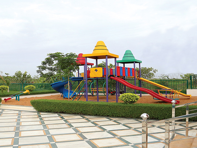 Apple Elegance 2 bhk Flats Children Play Area