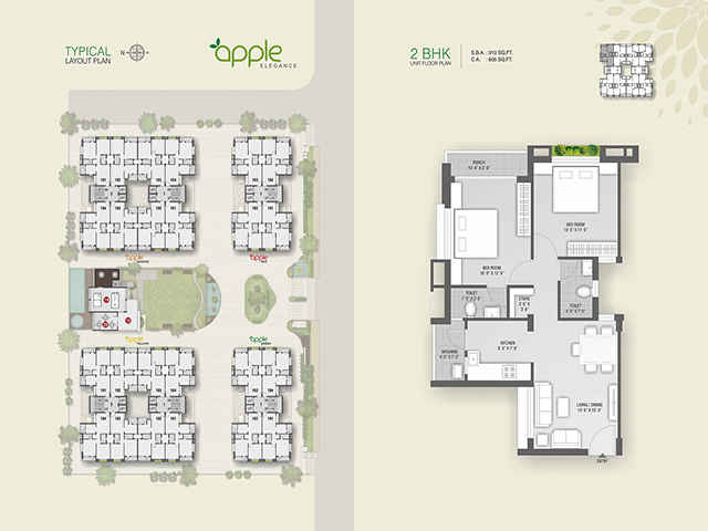 Apple Elegance Layout Plan