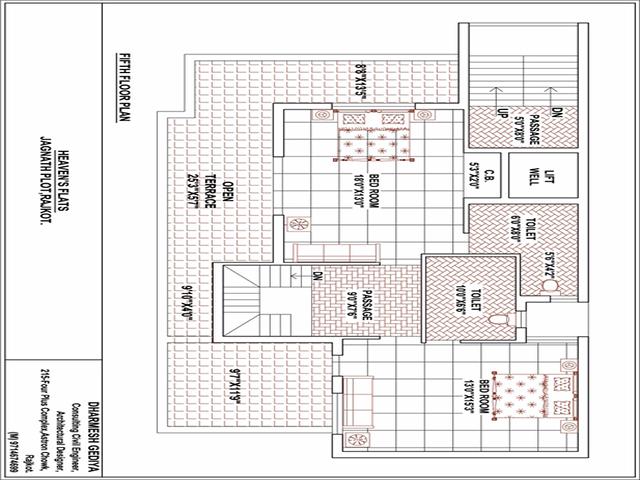 Heavens' Arcade 4-5th Floor Plan