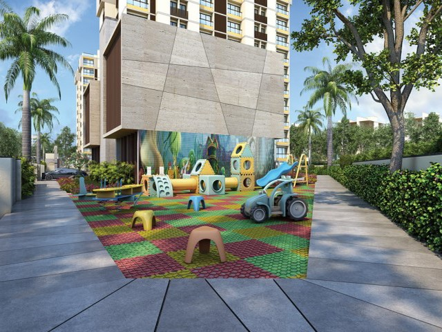 Apple Greens Luxury 2 Bhk | 3 Bhk Children Play Area on Jamnagar Road