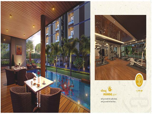 Asopalav Enigma 3 Bhk Luxury Apartment in Mavdi Area